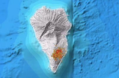 Localizan más de 40 terremotos durante la última noche en La Palma