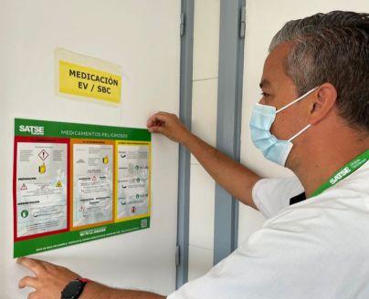 SATSE reclama una mayor protección de los profesionales sanitarios ante riesgos biológicos