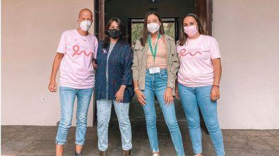 Día del Cáncer de mama en La Palma marcado por el volcán