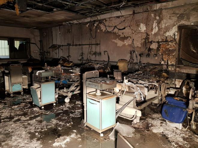 El incendio en el Hospital de La Candelaria se sofocó sin heridos