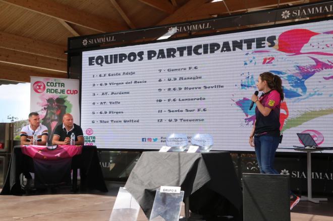 La II edición del Torneo de fútbol femenino Costa Adeje Cup tendrá lugar el 19 y 20 de julio