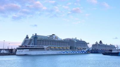 La capital continúa recibiendo a los habituales cruceros a dos semanas de finalizar la temporada alta
