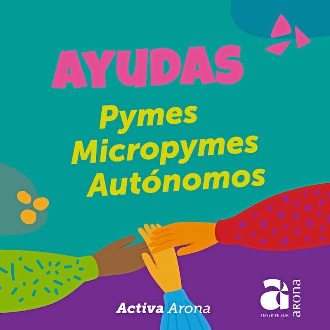 Arona abre el plazo para solicitar las ayudas directas para pymes, micropymes y autónomos del municipio