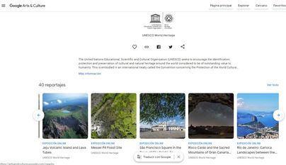 La Unesco incluye a Risco Caído en la selección de joyas de la humanidad que se muestra en Google Arts & Culture