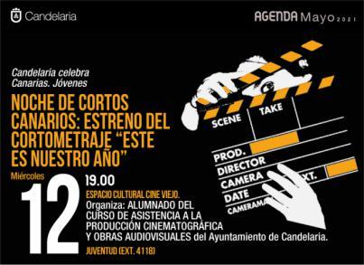 Noche de cortos canarios en Candelaria