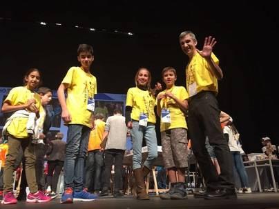 Aldeatrón Robotix, premio a la mejor programación de robot en la final de la First Lego League España