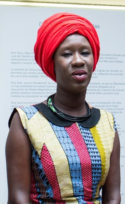 Amy Sow reivindica el arte como herramienta para la igualdad en África