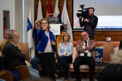 Ana Oramas considera imprescindible el gasto del superávit para mejorar la Sanidad
