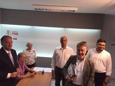 Ángel Víctor Torres lidera los avales provisionales para la Secretaría del PSC
