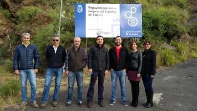 La mejora del camino de Cosme de Arafo costará 580.000 euros
