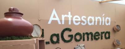 Una veintena de artesanos en una muestra del sector en Valle Gran Rey