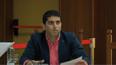 """Benjamín Perdomo (Cs): """"El PP era conocedor de la nueva imputación de San Ginés y le dio vía libre a cambio de un puesto en el poder"""""""
