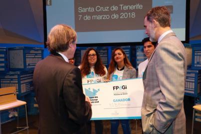 'Be to Be Exchange', ganador del 'reto' de los Premios Princesa de Girona en Tenerife