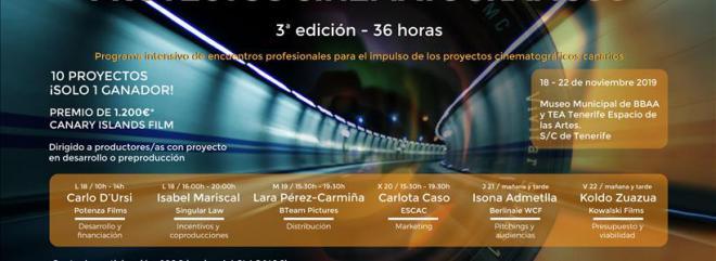 Tercera edición del programa de aceleración de proyectos cinematográficos