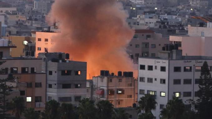 Israel ataca objetivos de la Yidad islámica en respuesta a los proyectiles lanzados desde Gaza contra la población civil