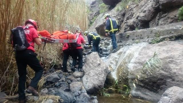 Bomberos realiza veinte rescates en Masca en lo que va de año