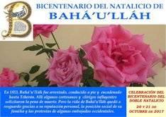 Los bahá'ís de Canarias celebran el bicentenario del nacimiento de Bahá'u'lláh, el fundador de la Fe Bahá'í