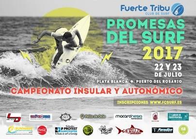 Comienza el Circuito Promesas del surf en Puerto del Rosario.