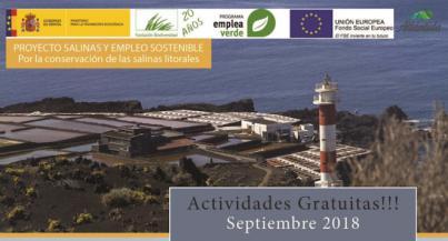 Inicio del proyecto Salinas y Empleo Sostenible II en Canarias.