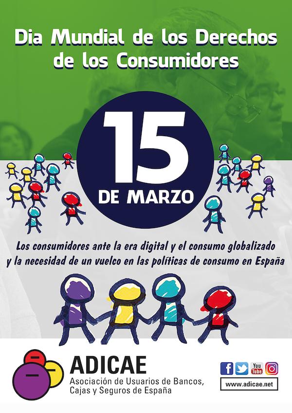 Adicae Canarias promueve un consumo crítico y solidario por el Día Mundial de los Derechos del Consumidor