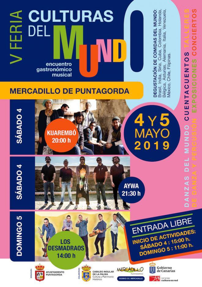 La Feria 'Culturas del Mundo' reunirá las propuestas culturales y gastronómicas de 14 países y regiones