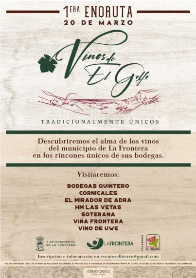 """""""Vinos de El Golfo, tradicionalmente únicos"""", una nueva oferta de turismo enológico en La Frontera"""