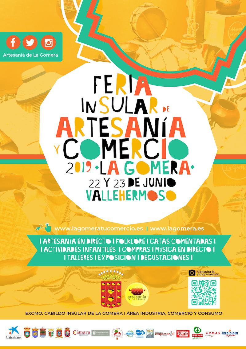 La artesanía y el turismo, ejes temáticos de la nueva edición de la Feria de Artesanía de La Gomera