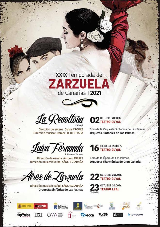 'Luisa Fernanda', una de las zarzuelas más icónicas del siglo XX, llega al Cuyás