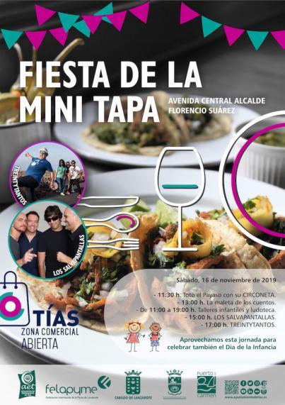 La Semana de la Minitapa de Tías se celebra del 11 al 16 de noviembre con premios y descuentos