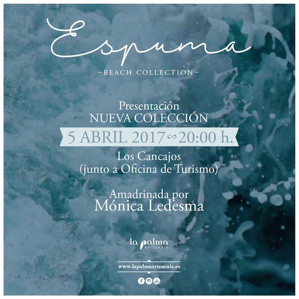 Nueva colección de moda 'Espuma´ de La Palma Artesanía