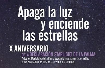 """La Palma """"se apagará"""" durante una hora para disfrutar de sus cielos nocturnos y las estrellas"""