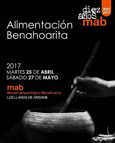 'Alimentación benahoarita', en el décimo aniversario del Museo Arqueológico