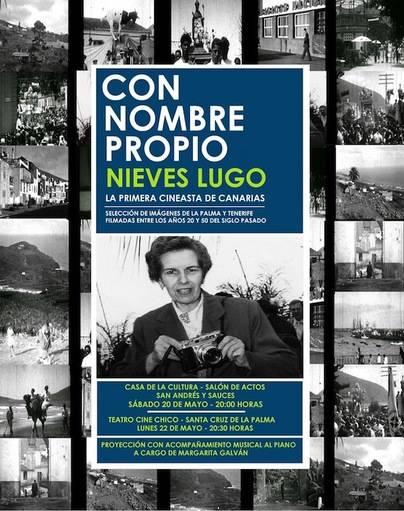 El ciclo 'Con nombre propio. Imágenes de Canarias' comienza una nueva serie de proyección de documentales de Nieves Lugo