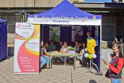 El CIFP César Manrique celebra sus Jornadas de Puertas Abiertas