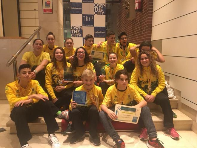 El Club Natación Martianez Campeón de España de Salvamento y Socorrrismo