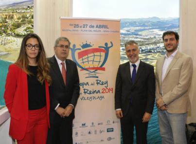 La Copa del Rey y la Reina de Voley Playa celebran su primera edición en San Bartolomé de Tirajana