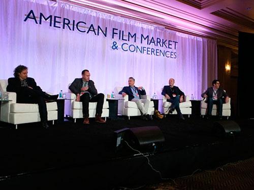 Gran Canaria se promociona en Los Ángeles para los rodajes americanos en Europa