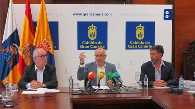Morales se ratifica en el 99% de aguas depuradas en Gran Canaria