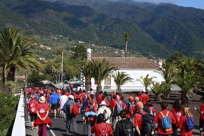 La Caminata Dona Sangre llamamiento a la solidaridad de la sociedad palmera