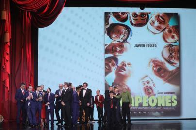 'Campeones' se lleva el premio a la Mejor Película y 'El reino' se lleva 7 galardones