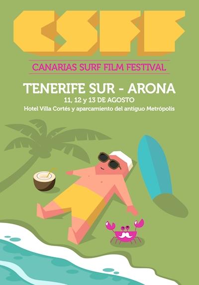 Arona, capital canaria de la cultura del surf durante este fin de semana