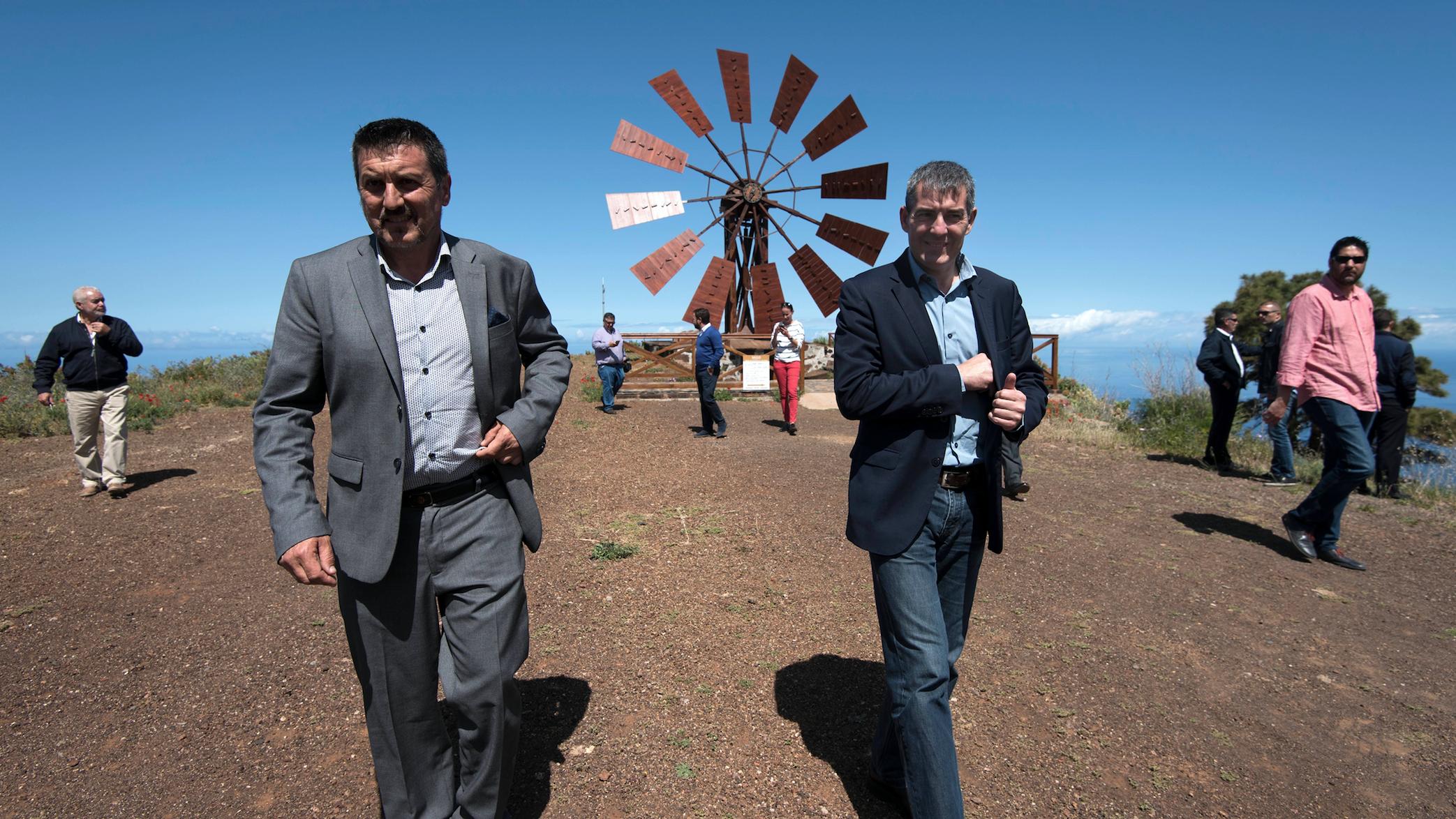 Clavijo apuesta por innovar en las zonas rurales para evitar su despoblación