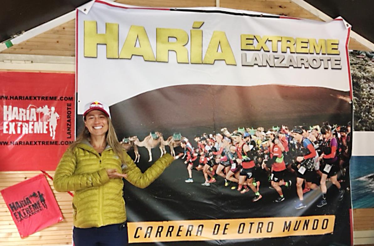 La 'Haría Extreme Lanzarote' se promociona en la Feria Ultra Trail Mont Blanc de Chamonix