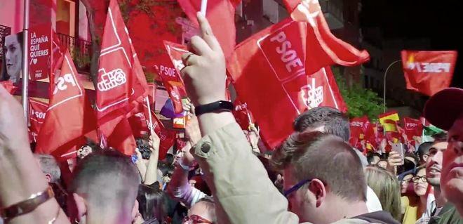 El PSOE de Sánchez gana las elecciones