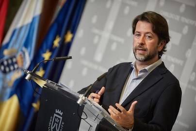 Alonso defenderá ante CC la propuesta de que Tenerife tenga un diputado más que Gran Canaria