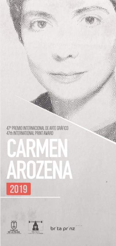 La Palma convoca la 47 edición del 'Premio Internacional de Grabado Carmen Arozena 2019'