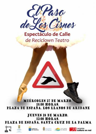 La Palma celebra el Día Mundial del Teatro con 'El paso de los cisnes'