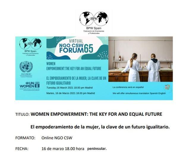 Cuatro mujeres de las Islas en los eventos del Consejo Económico y Social de la ONU