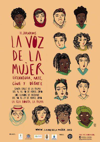 Santa Cruz de La Palma acoge las jornadas culturales 'La Voz de la Mujer'