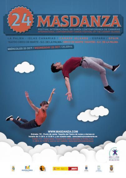 El Teatro Circo de Marte acoge el festival internacional 'Masdanza'